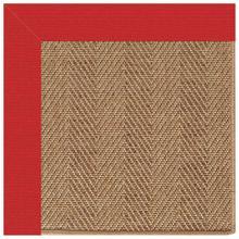 "View Product - Islamorada-Herringbone Canvas Jockey Red - Rectangle - 24"" x 36"""