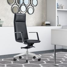 View Product - Modrest Gorsky - Modern Black High Back Executive Office Chair