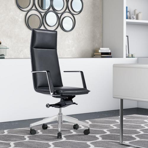 VIG Furniture - Modrest Gorsky - Modern Black High Back Executive Office Chair