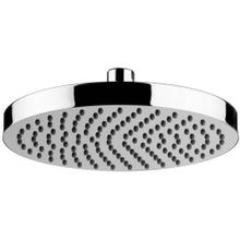 """See Details - Antique Gold 8"""" Easy clean shower head"""