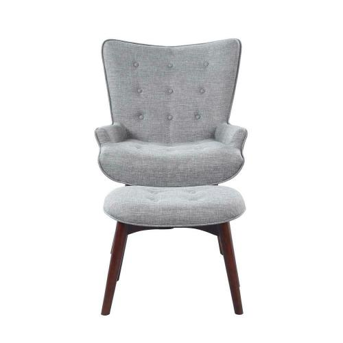 Product Image - Accent Chair With Ottoman