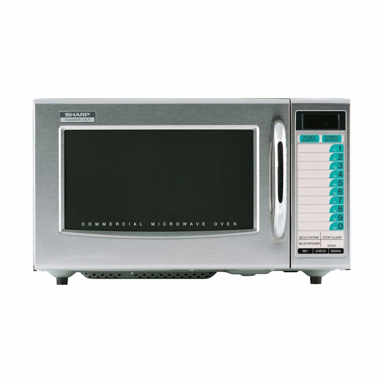 SharpMedium-Duty Commercial Microwave Oven With 1000 Watts