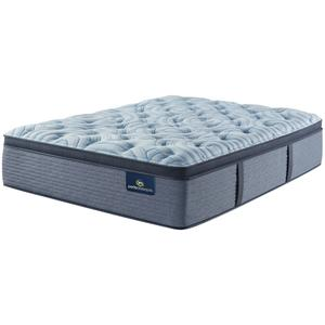 SertaPerfect Sleeper - Luminous Sleep - Plush - Pillow Top - Cal King