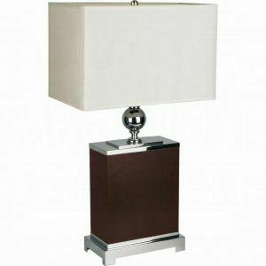 ACME Table Lamp (Set-2) - 03003 - Coffee
