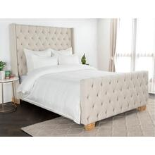 Karina Ivory Gray 3Pc Queen Duvet Set