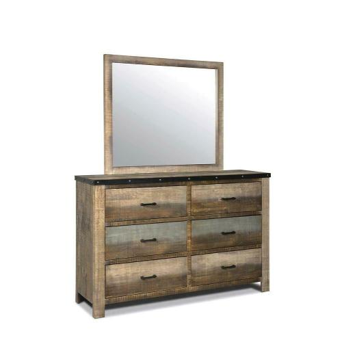 Sembene Antique, Multi-colored Dresser