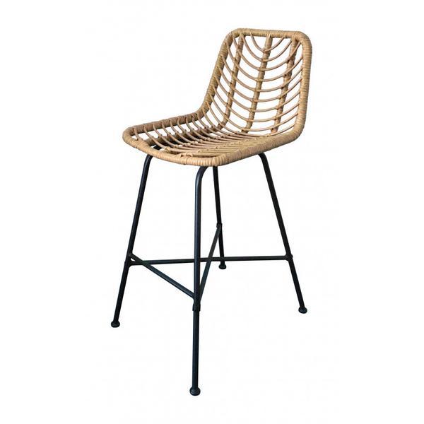 Malaga Bar Chair Natural