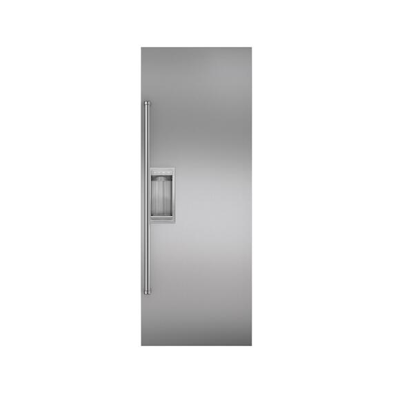 Sub-Zero - Stainless Steel Flush Inset Refrigerator Door Panel with Pro Handle