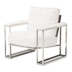 Astro Faux Fur Chair