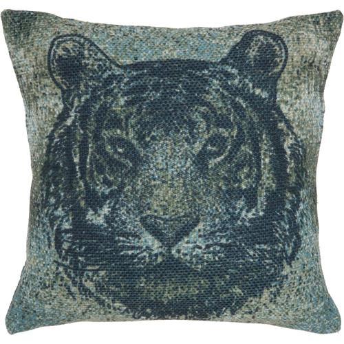 """Outdoor Pillows As707 Multicolor 20"""" X 20"""" Throw Pillow"""
