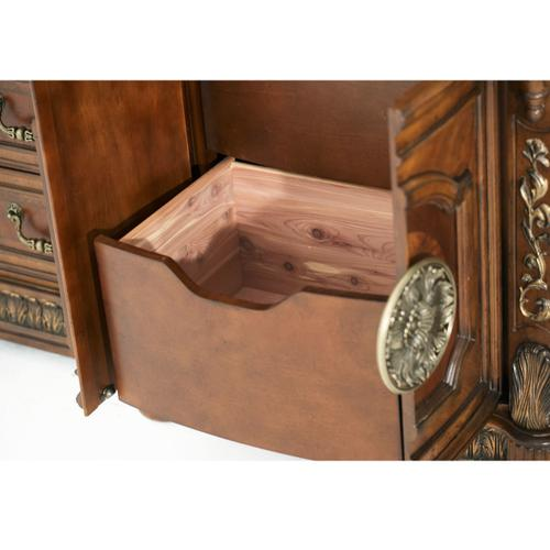 Amini - Storage Console- Dresser W/mirror