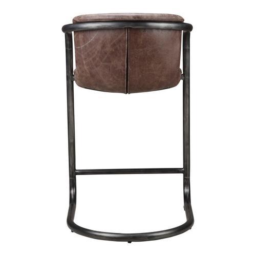 Moe's Home Collection - Freeman Counter Stool Light Brown-m2