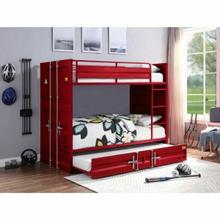 ACME Cargo Bunk Bed (Twin/Twin) - 37910 - Red
