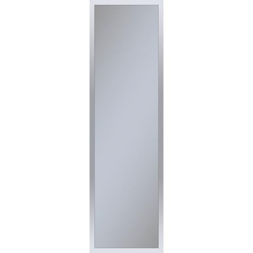 """Profiles 11-1/4"""" X 39-3/8"""" X 4"""" Framed Cabinet In Chrome With Electrical Outlet, Usb Charging Ports, Magnetic Storage Strip and Right Hinge"""