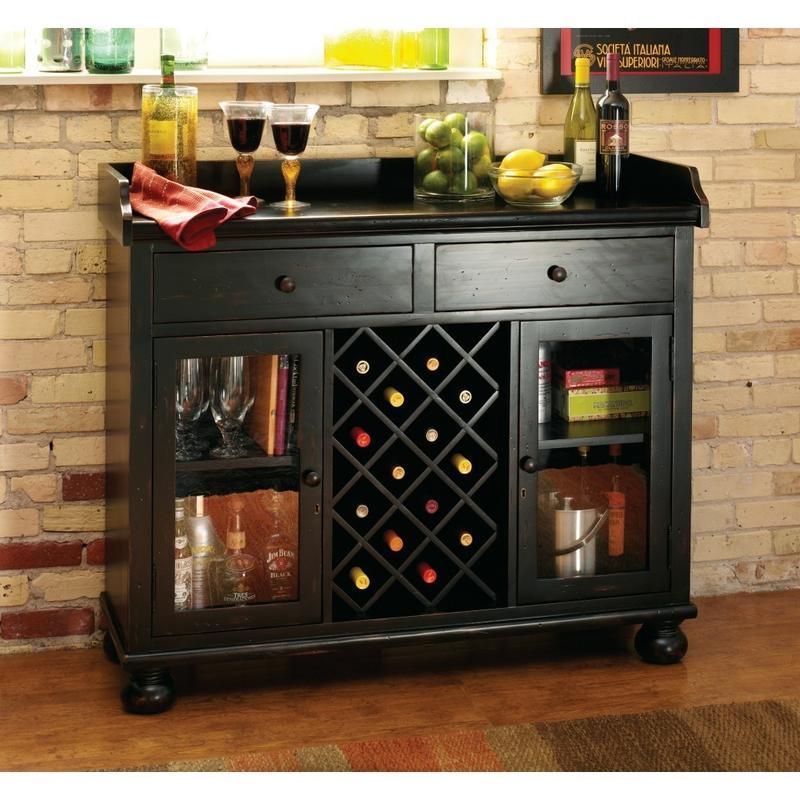 695-002 Cabernet Hills Wine & Bar Console