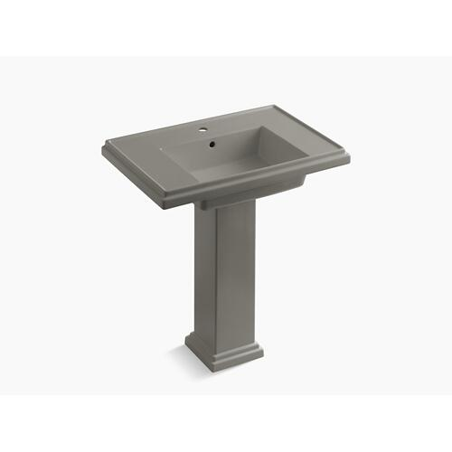 "Cashmere 30"" Pedestal Bathroom Sink With Single Faucet Hole"