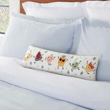 "Plush Cr906 Multicolor 8"" X 20"" Lumbar Pillow"