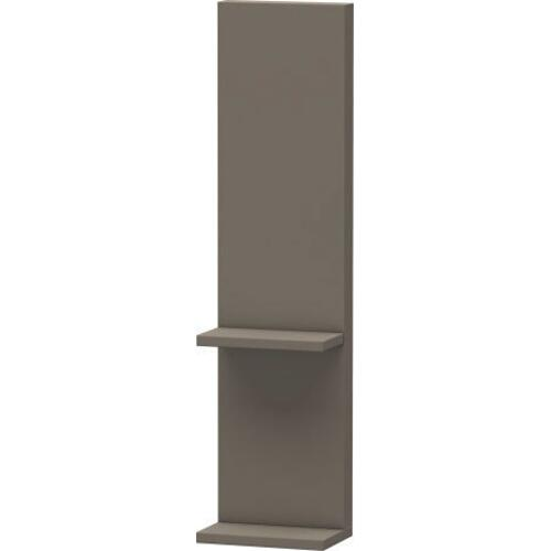 Duravit - Shelf Element, Flannel Gray Satin Matte (lacquer)