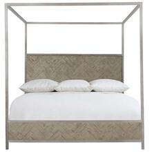 Queen-Sized Milo Canopy Bed in Morel (398)