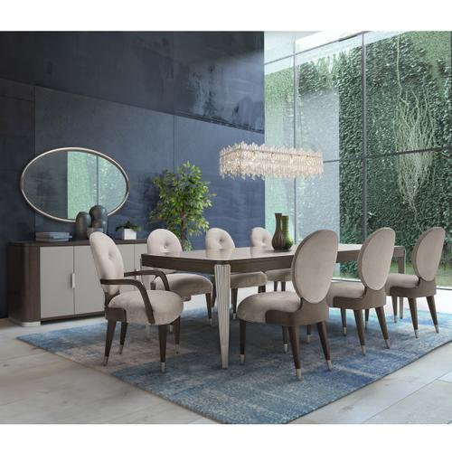 Amini - Rectangular Dining Table (includes: 2 X 24 Leaves)