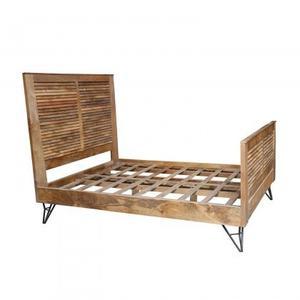 Shutter Queen Size Bed