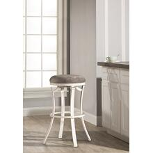 Kelford Backless Bar Stool - White