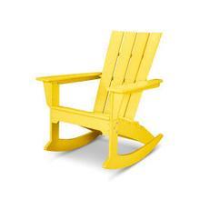 View Product - Quattro Adirondack Rocking Chair in Lemon