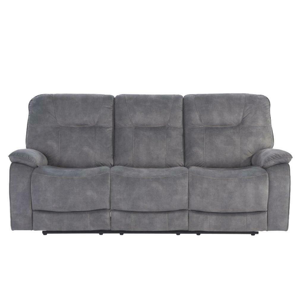 COOPER - SHADOW GREY Manual Triple Reclining Sofa