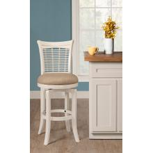 View Product - Bayberry Swivel Counter Stool - White