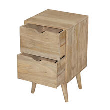 View Product - End Table - Vanilla Finish