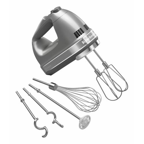 Gallery - 9-Speed Hand Mixer - Contour Silver