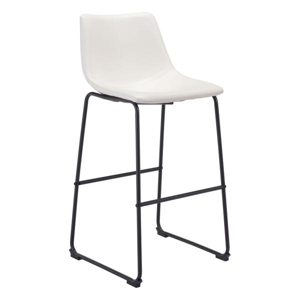 See Details - Smart Bar Chair Distressed White