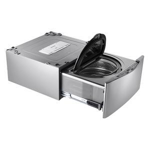 LG Canada - 1.1.cu.ft. TWINWash™ Pedestal Washer