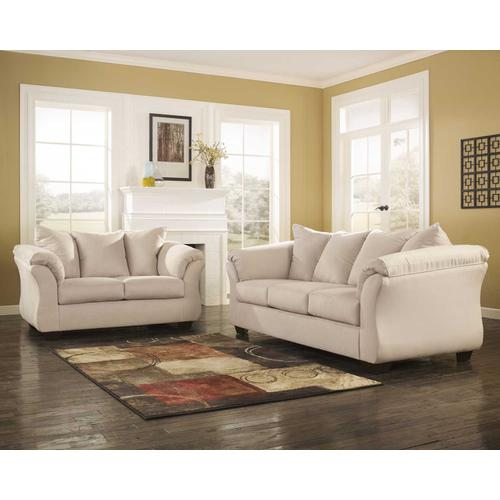 Darcy Sofa & Loveseat Stone