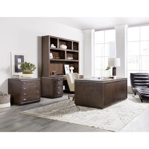 Hooker Furniture - House Blend Credenza Hutch