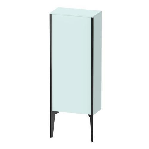 Semi-tall Cabinet Floorstanding, Light Blue Matte (decor)