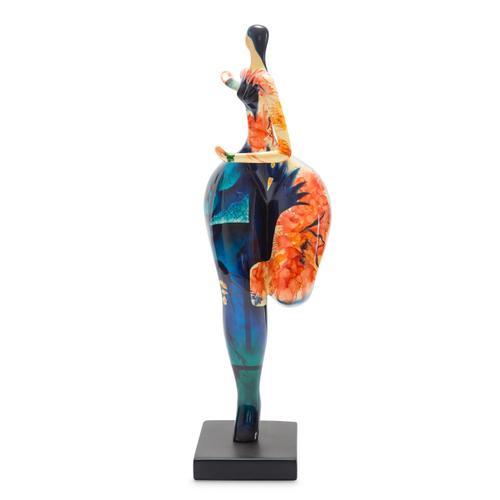 Dancing Statue Blue