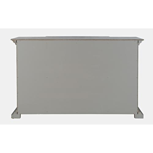 Jofran - Carrington Small Breakfront Cabinet - Grey
