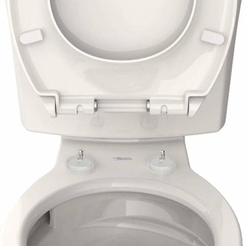 American Standard - Contemporary Slow-Close Elongated Toilet Seat with TriVantage  American Standard - White
