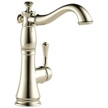 Polished Nickel Single Handle Bar / Prep Faucet