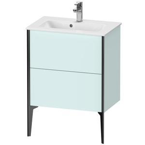 Vanity Unit Floorstanding Compact, Light Blue Matte (decor)