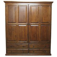 See Details - Forest Designs Traditional Wardrobe: 60W x 72H x 21D - 36w