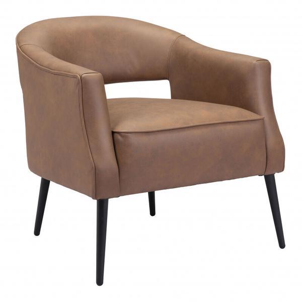 See Details - Berkeley Accent Chair Vintage Brown