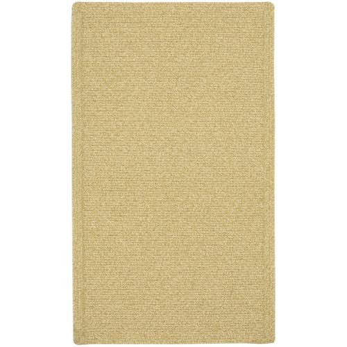 Capel Rugs - Heathered Beige - Oval - 5' x 8'