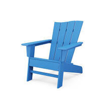 View Product - The Wave Chair Right in Pacific Blue