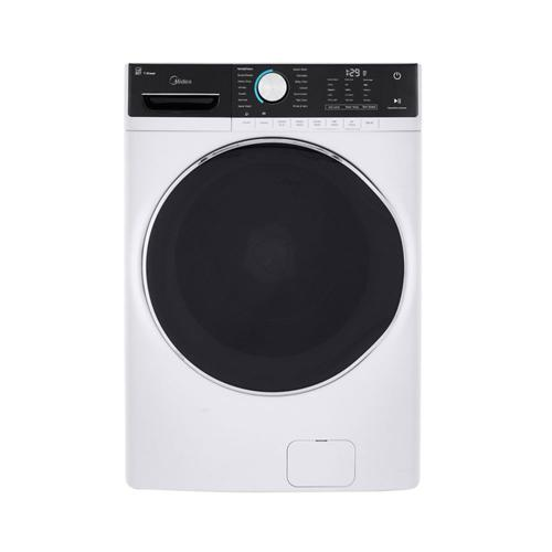 5.2 Cu. Ft. Capacity Front Load Washer White