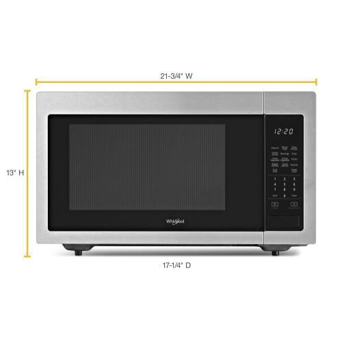 Whirlpool - 1.6 cu. ft. Countertop Microwave with 1,200-Watt Cooking Power