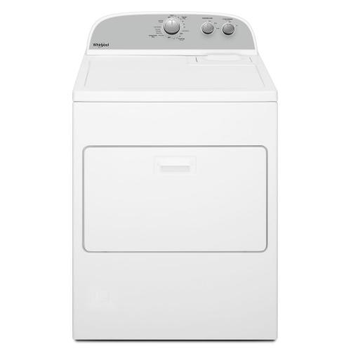 Whirlpool - 7.0 cu. ft. Top Load Electric Dryer with AutoDry™ Drying System