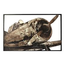 Metal Prop Plane Wall Décor