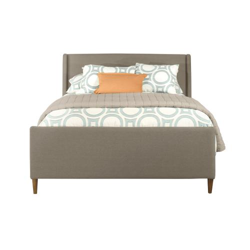 Denmark Headboard and Footboard - Queen - Dove Gray